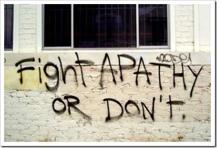 APATHY AWARENESS